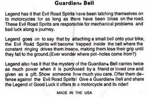 PRAYING HANDS Guardian® Bell Motorcycle Harley Accessory HD Gremlin NEW