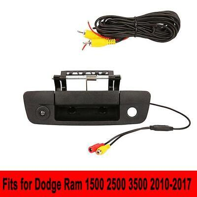 Tailgate Handle Latch Backup Camera For Select 2009-2017 Dodge Ram Pickup Trucks