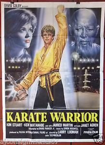 Karate-Warrior-Kim-Stuart-Italian-2F-Movie-Poster-1980s