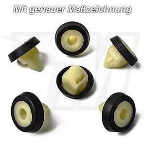 10x-CARENATURA-clip-di-fissaggio-paraurti-DADO-AUDI-VW-SEAT-SKODA-n10621301