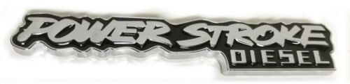 x1 Power Stroke Diesel Emblem Replaces OEM Super Duty F150 F250 F350 7.3 6.0 6.7