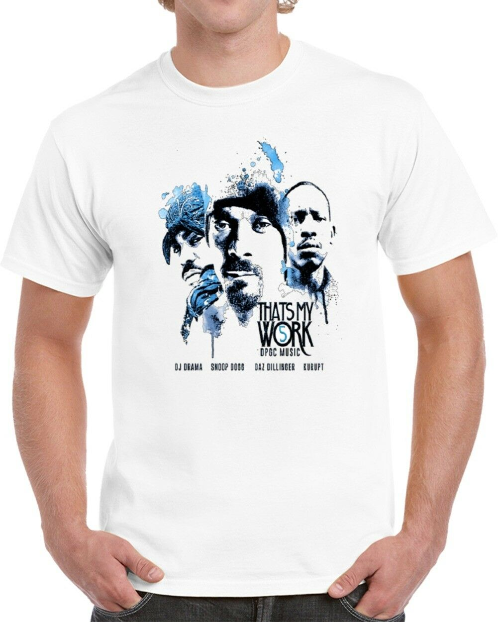 359aba8a That's My Work Tha Dogg Pound T Shirt short sleeve men Tee T shirt o-neck  knitted comfortable fabric