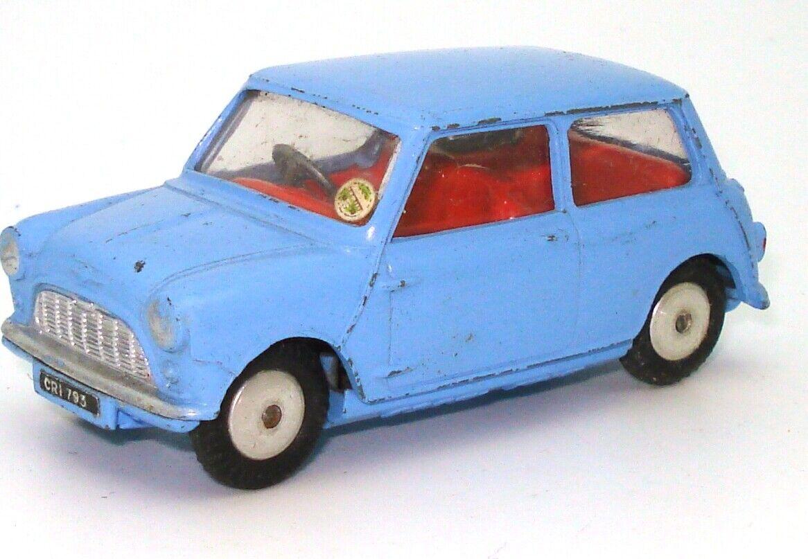 CORGI NO. 226 MORRIS MINI SALOON - RARE Blau  lj