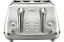 De-039-Longhi-CTOC4003W-Icona-4-Slice-Wide-Slot-Toaster-White-RRP-179-00 thumbnail 2