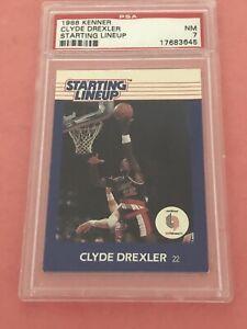 1988 Kenner SLU Portland Trailblazers Clyde Drexler PSA 7 NM.