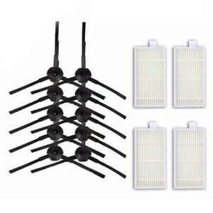 10x-Side-Brush-amp-4x-Filter-Mesh-Set-For-Ariete-Briciola-2711-2712-2713-2717-Models