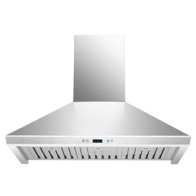 30 Range Hood 900 Cfm Wall Mount F355 Stainless Steel New Free Shipping Ebay