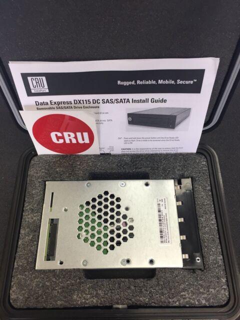 CRU-DataPort Digital Cinema DCP KIT 2 USB 3 DX115 500GB 31330-4071-0001