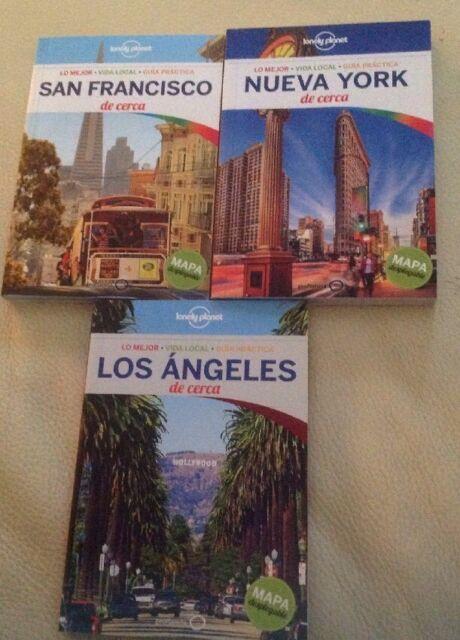 Guia Lonely Planet San Francisco 16 + Los Àngeles 15 + Nueva York 17