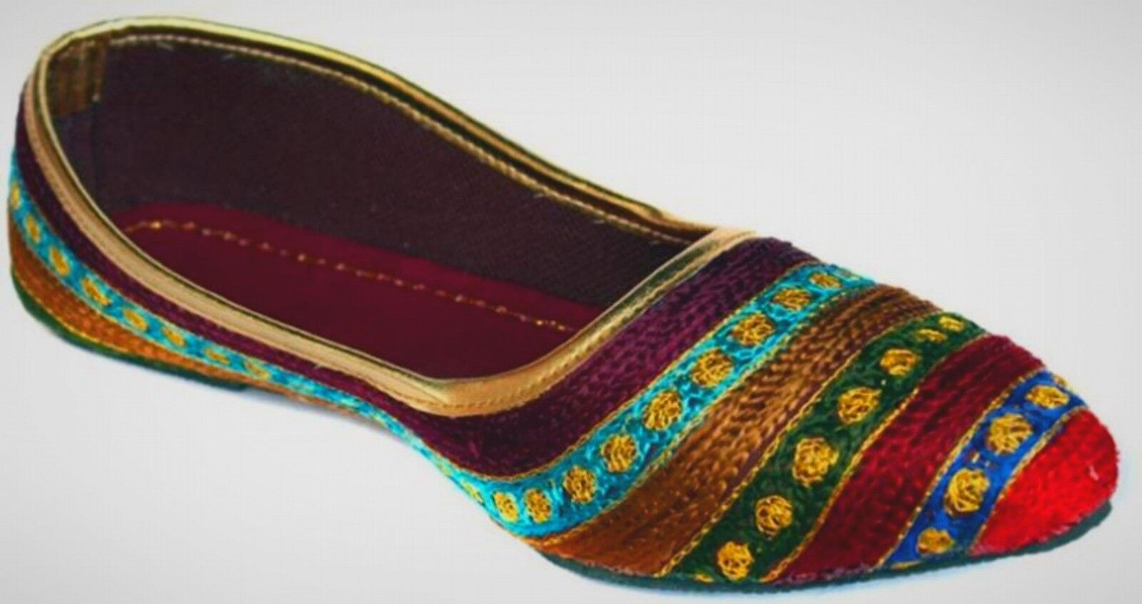 StepIndia Party Wear Shoes Ethnic Rajasthani Jaipuri Bellies Shoes Wear for ladies and Girl 1e6b41