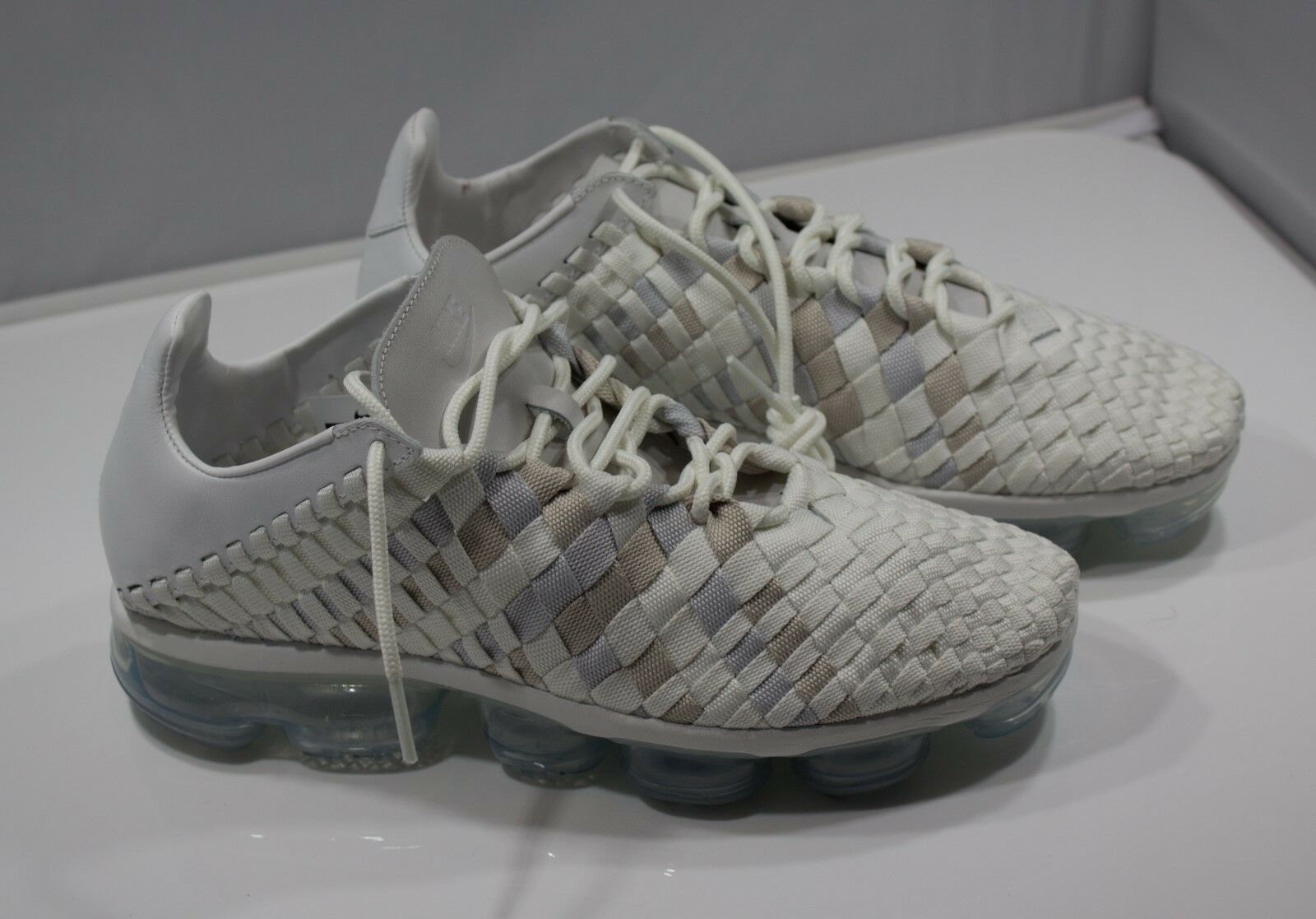 NIKE  VAPORMAX INNEVA AO2447 100 Size 11.5 US Fast Free Shipping REAL PICTURES