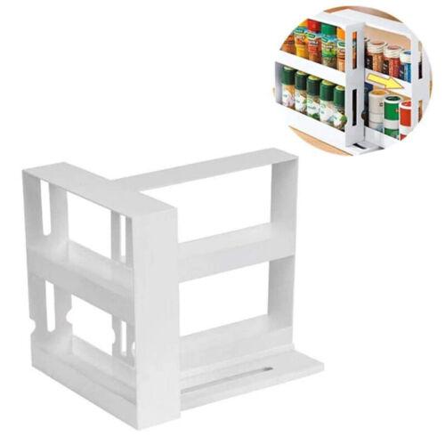 Multifunction Rotating Jars Spice Rack Kitchen Storage Holder Rack Organize NEW