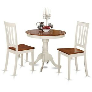 Details about 3 Piece Kitchen Nook Dining Set-Kitchen Table And 2 Chairs  For Dining Room NEW
