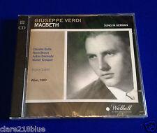 NEW Sealed  Giuseppe Verdi: Macbeth (2014) CD double