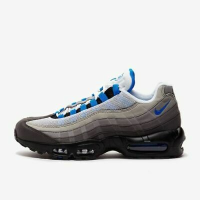 timeless design 9f768 13363 Nike Air Max 95 '99 OG White Crystal Blue 2018 Retro AT8696-100 | eBay