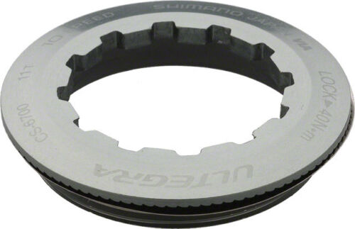 SHIMANO ULTEGRA 6700 10-SPEED---ROAD BICYCLE CASSETTE LOCKRING FOR 11T COG