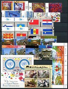 UNO New York Jahrgang 2001 gestempelt (Q531