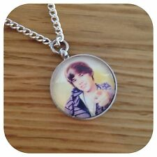 Justin Bieber pop star pendant Necklace x