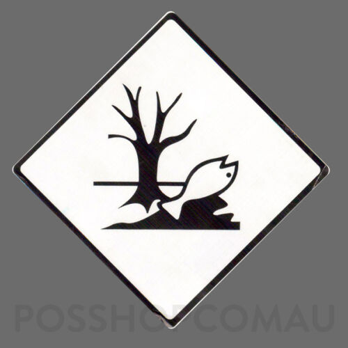 500 x Dangerous Goods Marine Pollutant Label Stickers