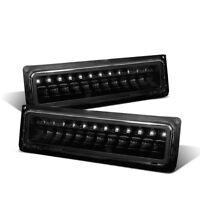 Cg Chevy Full Size/blazer/suburban/sierra/yukon 88-98 Park Led Lights Black Set