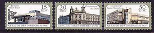 Germany DDR 2652-54 MNH 1988 Postal Buildings in East Berlin Full Set