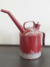 Estilo Vintage Rojo Dispensador De Aceite Industrial