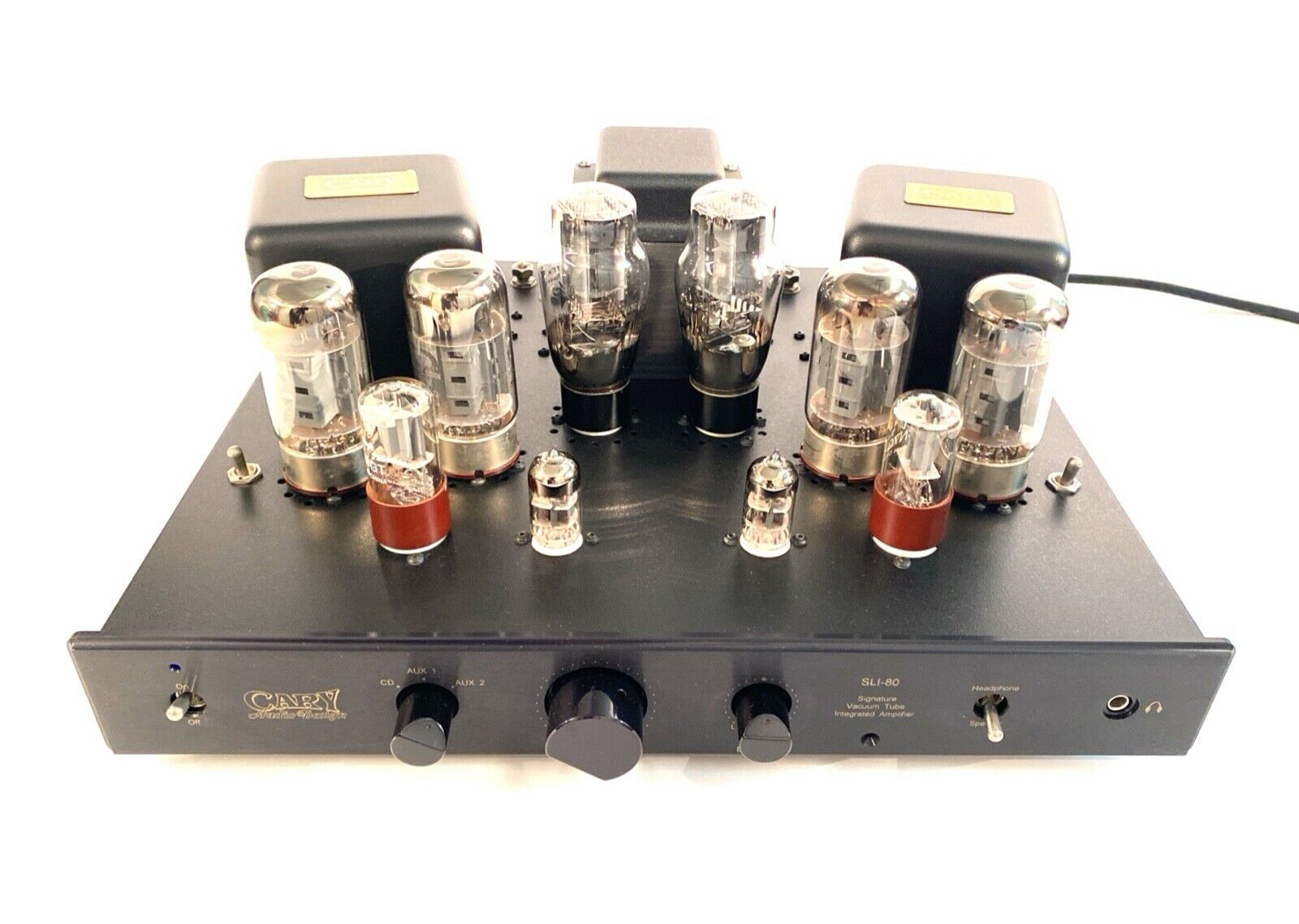 Cary SLI 80 Integrated Vacuum Tube Amplifier . Buy it now for 2795.00