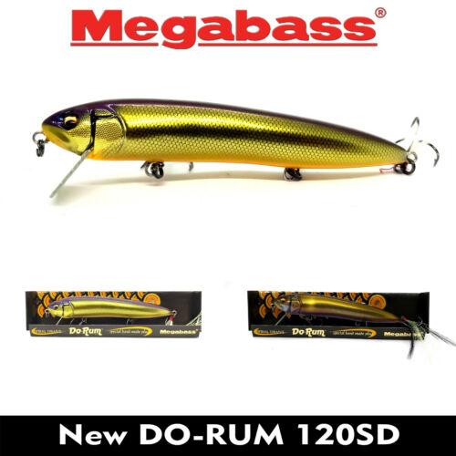 Megabass NEW DO-RUM 120SD FLOATING JAPAN FISHING LURE BAIT 120mm 17.5g COLORS