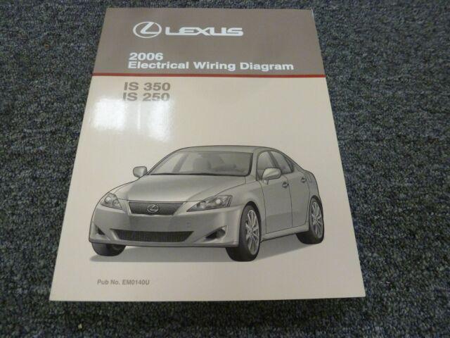 2006 Lexus Is 350 250 Sedan Electrical Wiring Diagram
