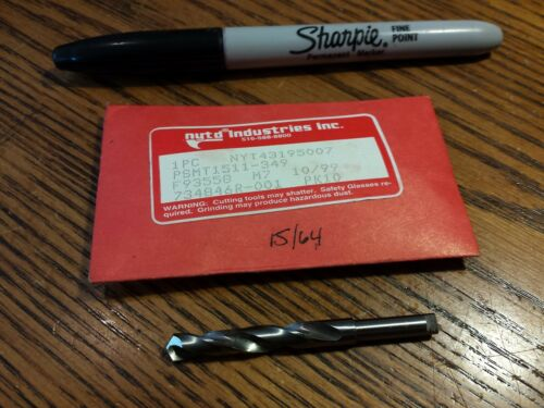 M7 15//64 Drill Bit New York Twist NYTD Brand New