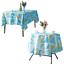 miniature 22 - Imperméable Nappe Home Table de salle à manger Protecteur Rond/Rectangulaire Table Housse