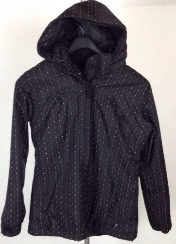 Medium Pulver 10k Mm Lite Dame Hood Snowboard Room Ski Black Micro Jacket nxn7C
