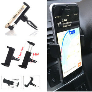 Mobile-Car-Air-Vent-Holder-Mount-Stand-Cradle-Universal-360-Degrees-For-iPhone