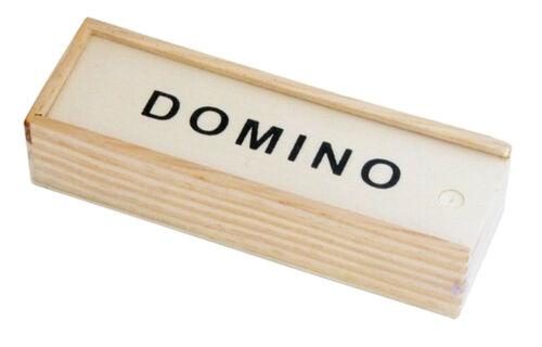 Domino Jeu en caisse en boisdominos BOXtuilesjeux de société