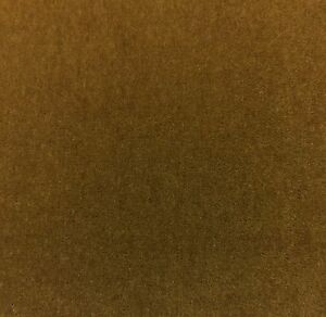 Beacon Hill Plush Mohair Caramel Brown Wool Velvet Upholstery Fabric