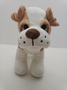 Bulldog-Puppy-Brown-amp-White-Dog-10-034-Long-Plush-Stuffed-Animal-by-Fun-Stuff