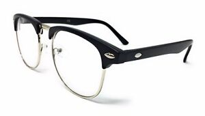 6e04b51c0f8 KIDS CLEAR LENS 1950 s Vintage Glasses Boys Girls Novelty Fashion ...