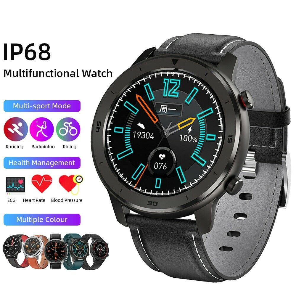 IP68 Sports Smart Watch Heart Rate Blood Pressure Oxygen Monitor Fitness Tracker blood Featured heart ip68 monitor oxygen pressure rate smart sports watch