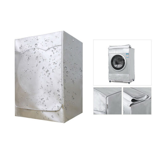 Washing Machine Cover Waterproof Washer Cover Fit For Front Load Washer Dryer US