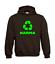 Karma-Recycling-Symbol-I-Radio-I-Patter-I-Fun-I-Funny-to-5XL-I-Men-039-s-Hoodie thumbnail 5