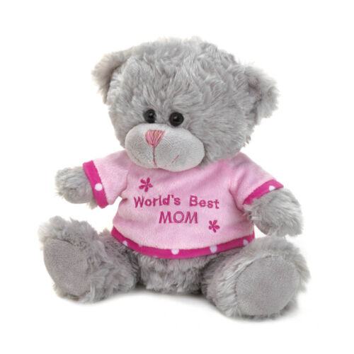 World/'s Best Mom Plush Teddy Bear