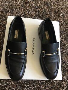 Balenciaga Black Goat Leather Italy
