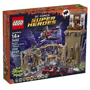 LEGO-76052-Batman-Classic-super-heroes-Batcaverna-Tv-series-new-misb-DC-COMICS
