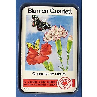 Quartett - Blumen - ASS - Nr. 3102 - Kartenspiel - Quartettspiel  NEU in Folie