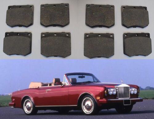 ROLLS ROYCE Corniche   FRONT BRAKE PADS SET ** Feb 1973-95 ** x8