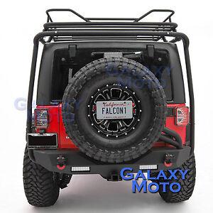 Rear-Spare-Tire-License-Plate-Relocation-Bracket-for-07-18-Jeep-JK-Wrangler