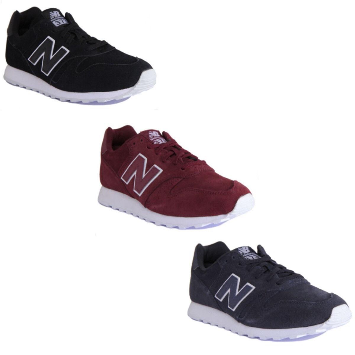 New New New Balance MI373TN Classique Moderne Hommes en Daim Cuir Noir Blanc Baskets 7-12.5 591e5a