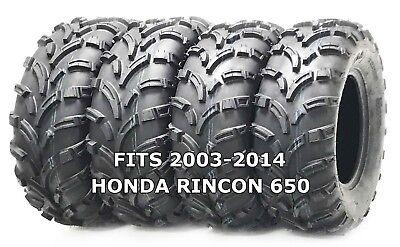 4 New WANDA ATV//UTV Tires 25X8-12 25X10-12 for 2003-2013 KAWASAKI BRUTEFORCE 750