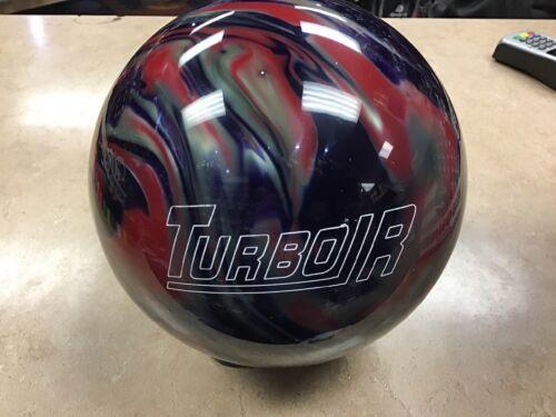 16lb NIB Ebonite Turbo//R Purple//Red//Silver 1st Quality Bowling Ball