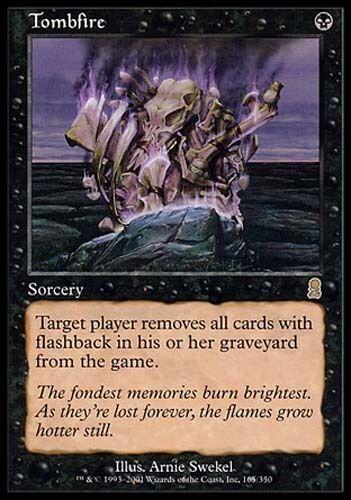 Black Odyssey Mtg Magic Rare 4x x4 4 PLAYED Nefarious Lich